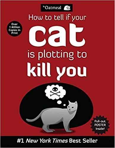 is your cat plotting to kill you cat book