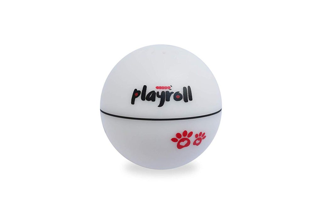 playroll robotic self spinning ball for cats
