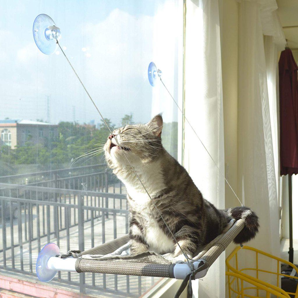 cat window perch, hammock cat bed