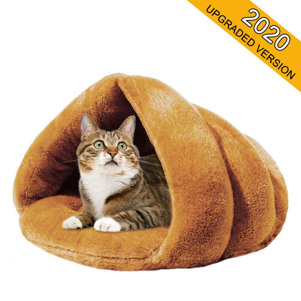 mojonnie self warming cat bed