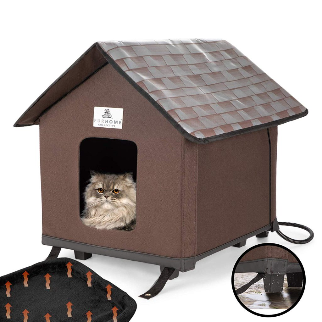 heated cat houses