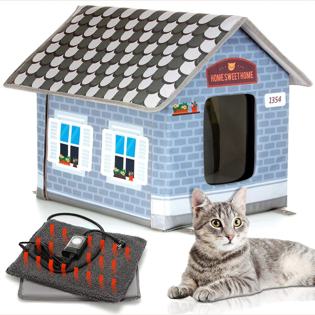 petyella heated cat house