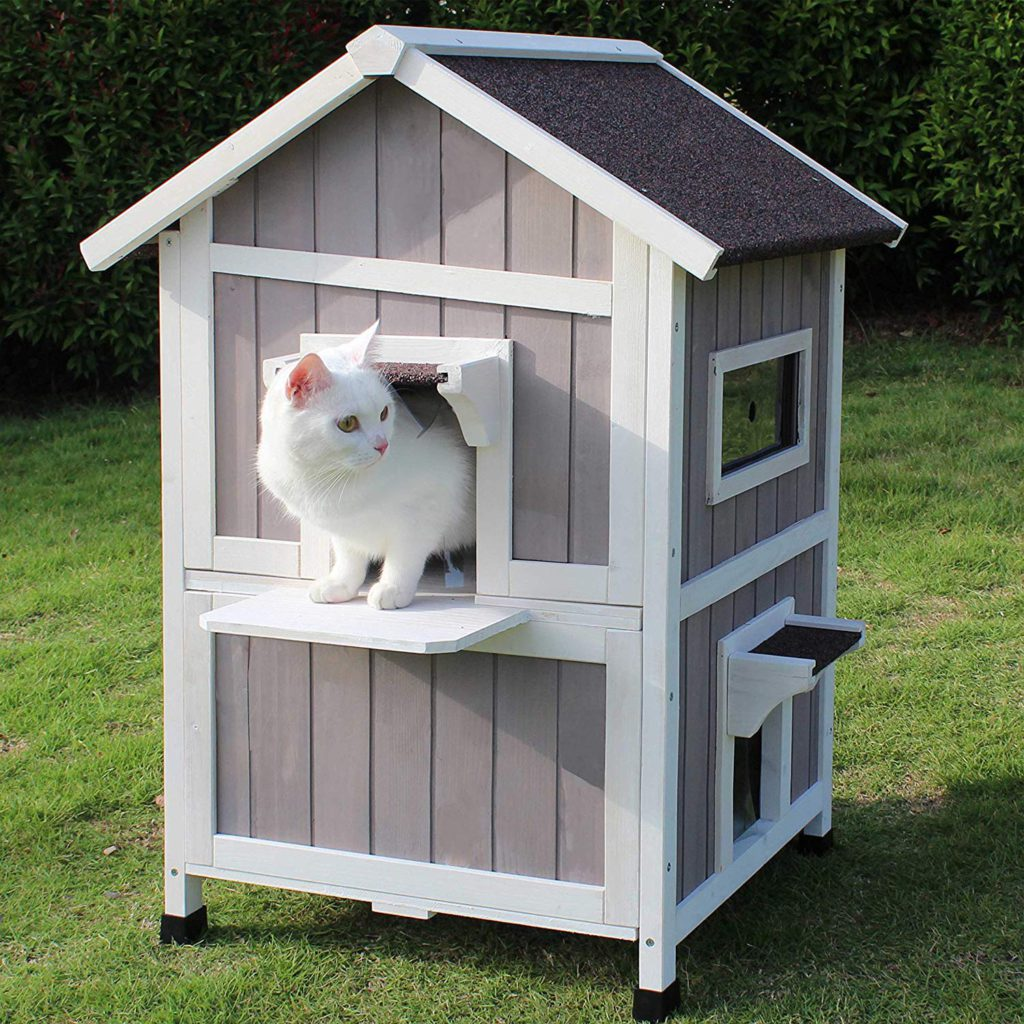 rockever outdoor cat shelter