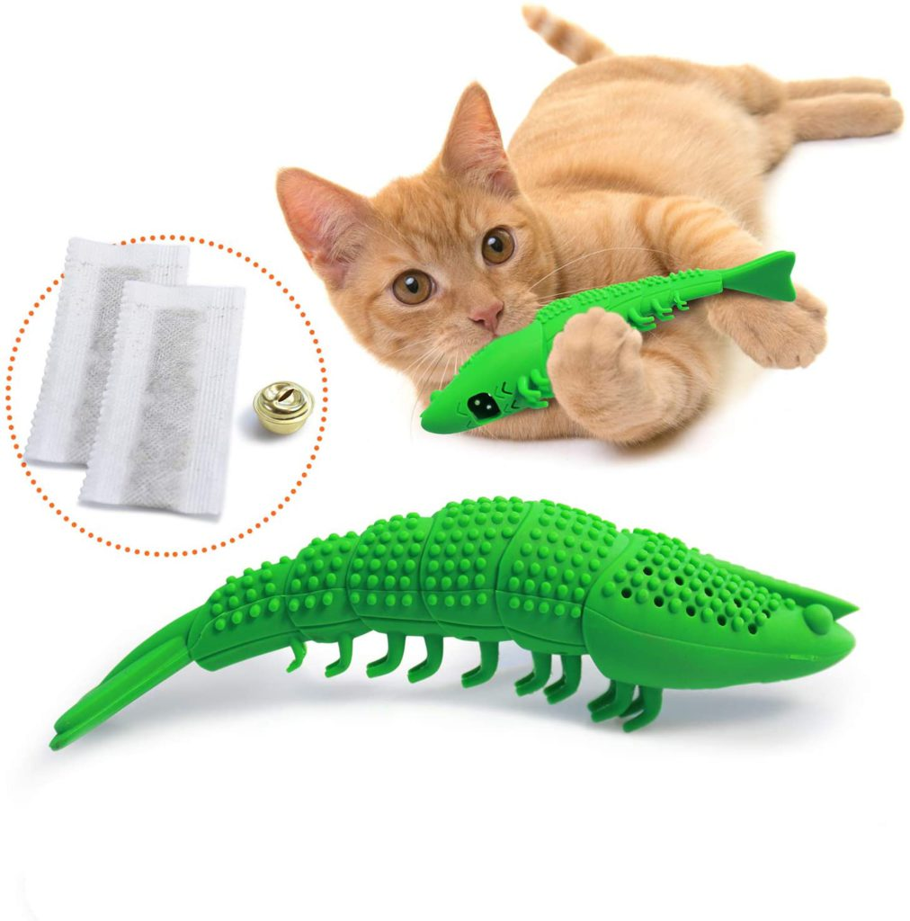 ronton cat toothbrush cat chew toys