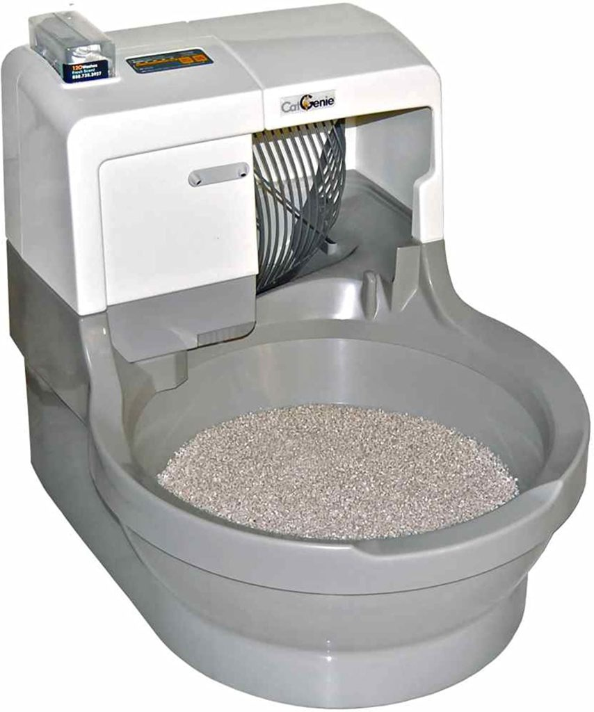 automatic kitty litter box reviews-cat genie