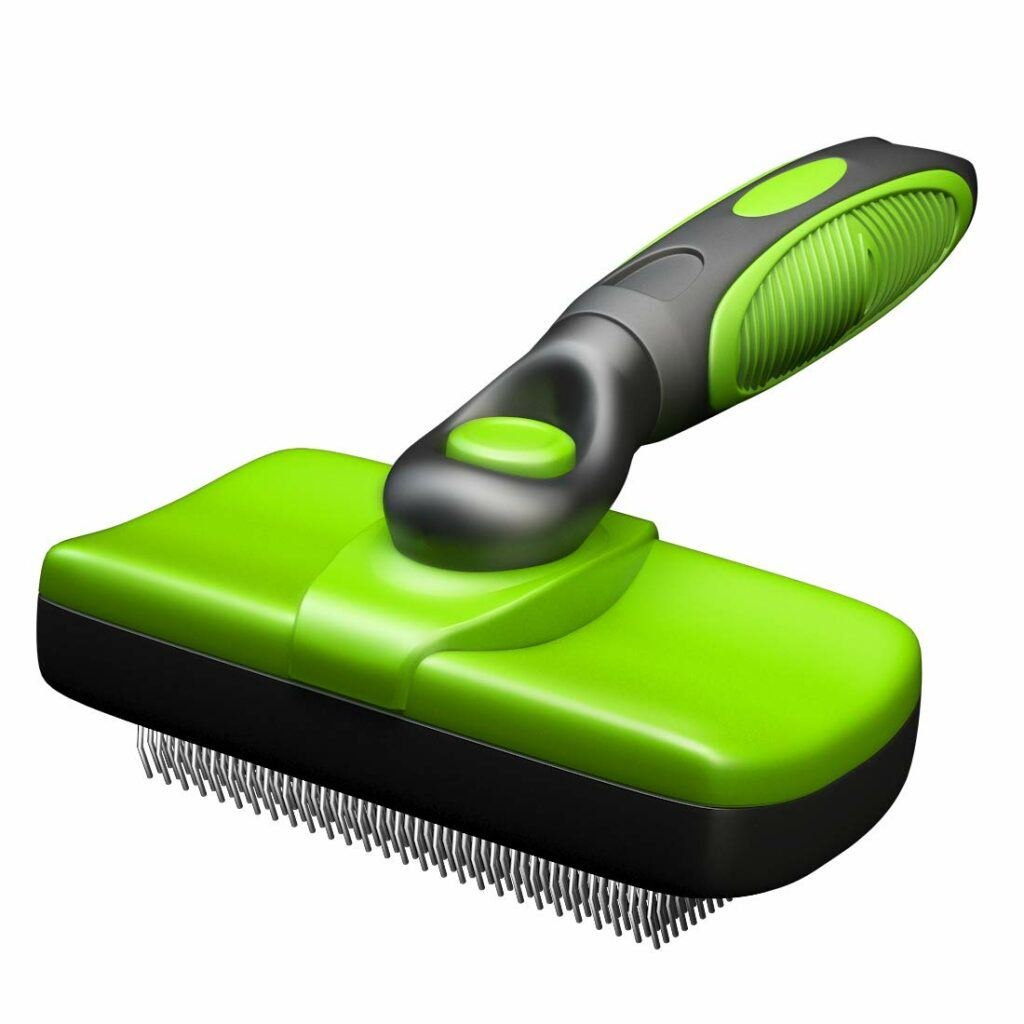 timnnov self cleaning slicker brush
