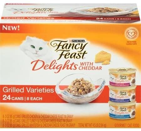 purina fancy feast delights