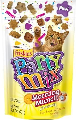 purina friskies party mix morning munch