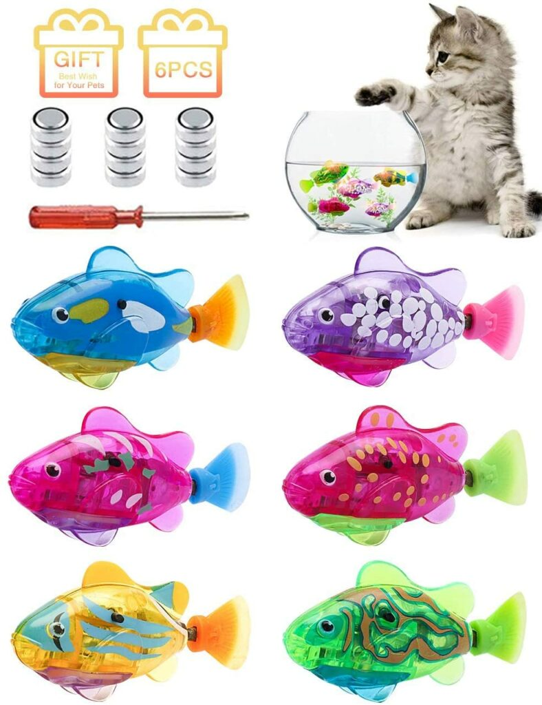 shunfa interactive swimming robot fish