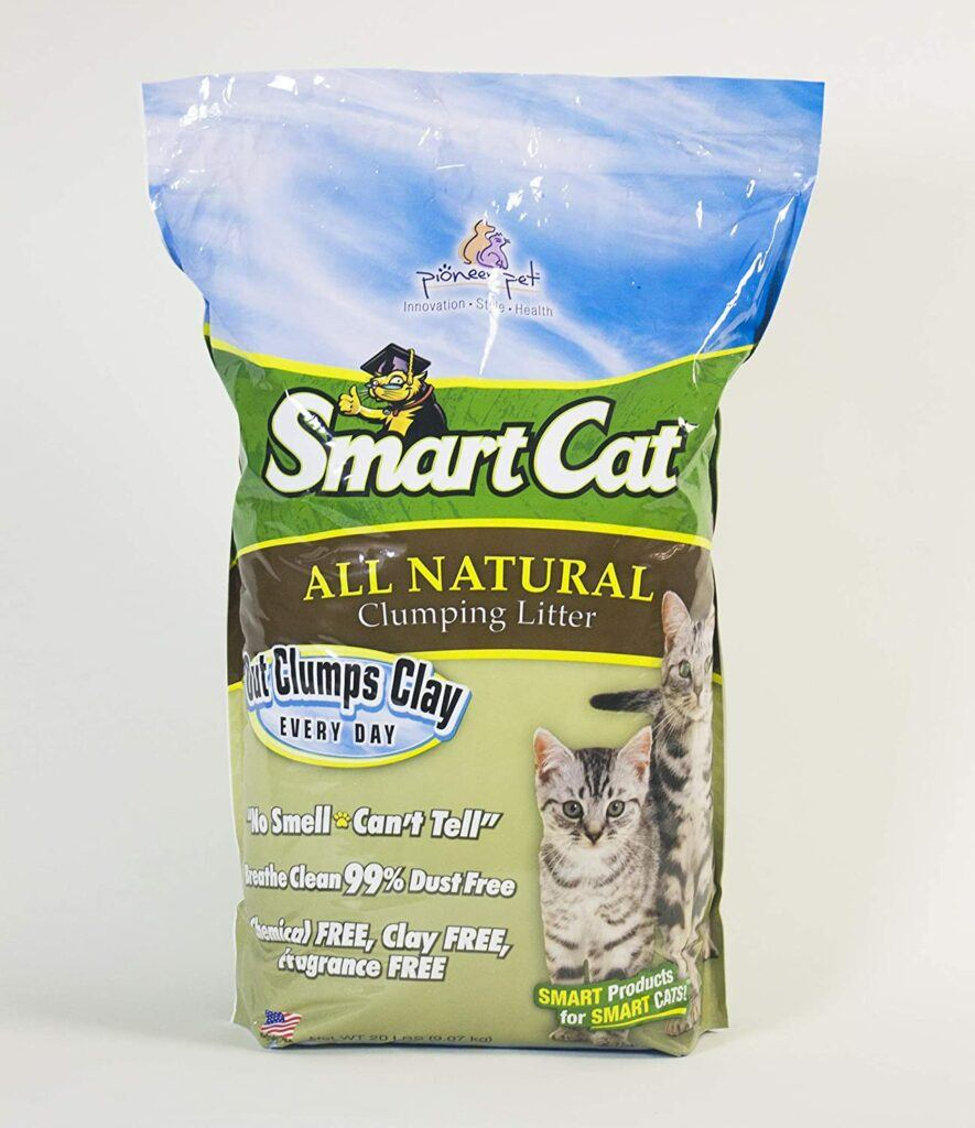 smart cat all natural clumping litter