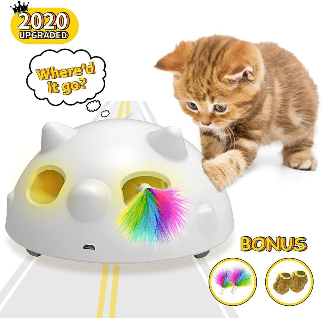 pop and play interactive cat toy