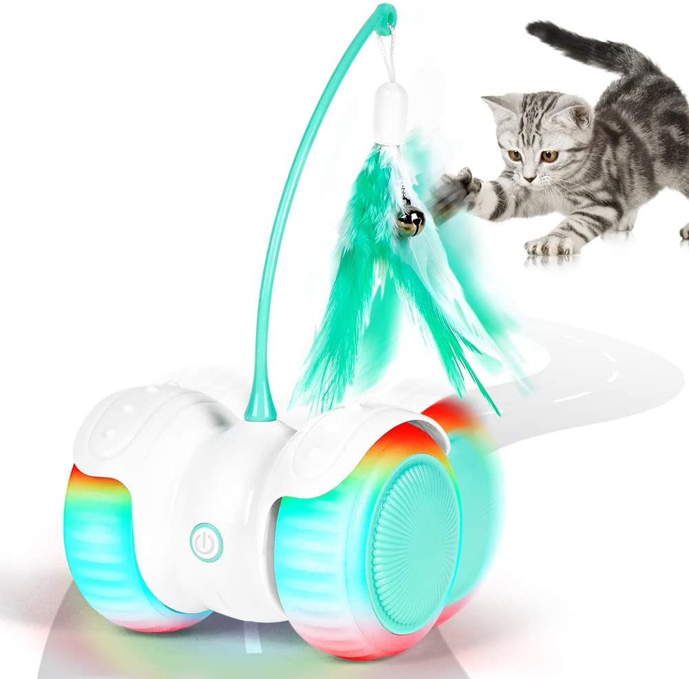 hauea robotic cat teaser toy