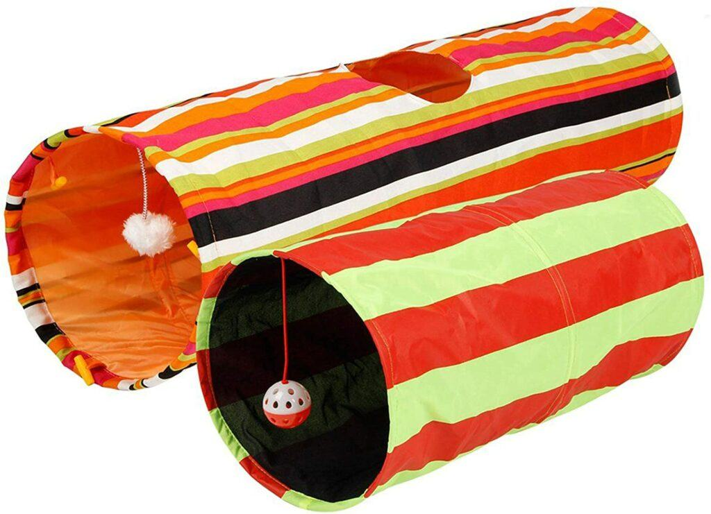 pet magasin collapsible cat tunnel