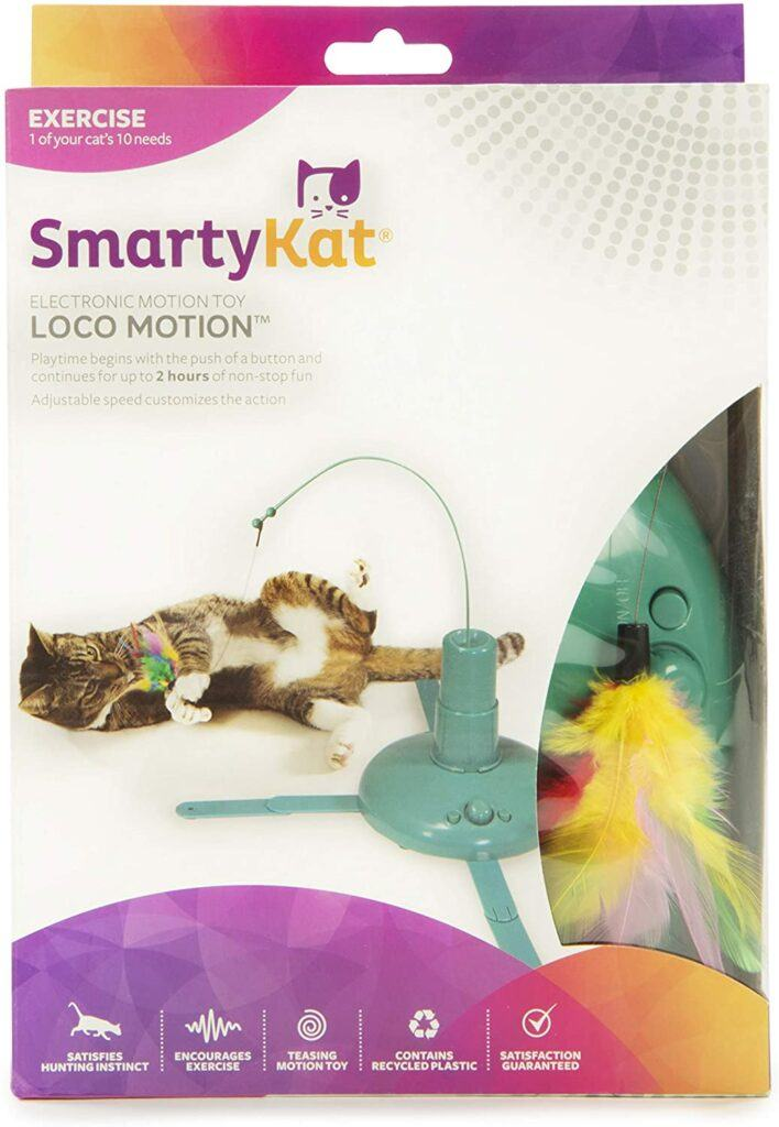 smartykat loco motion cat toy