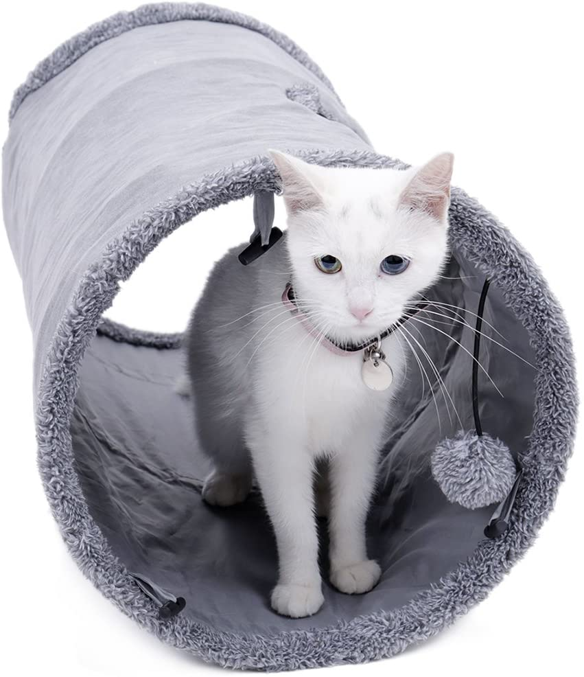 speedy pet collapsible cat tunnel