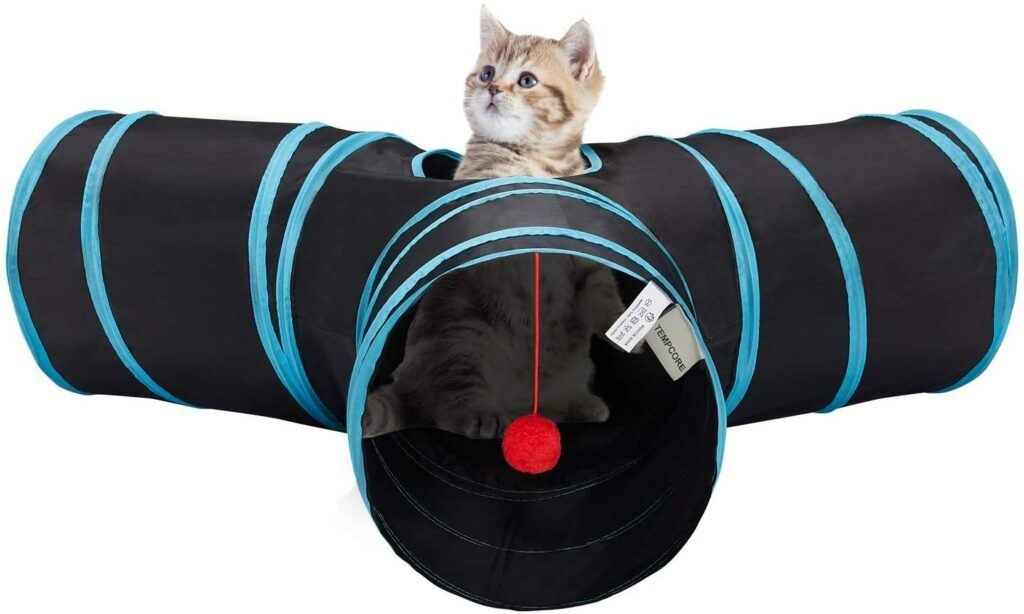 tempcore cat tunnel for indoor cats