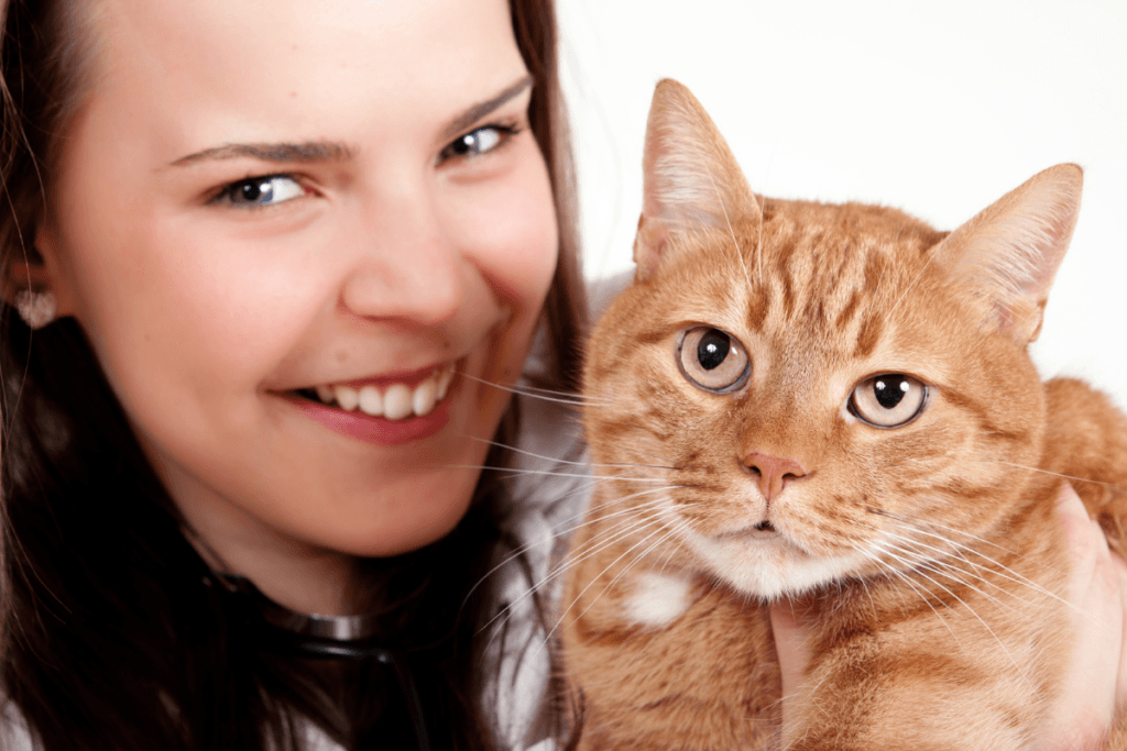 is cat insurance worth it and what type of policies are there-woman holding cat