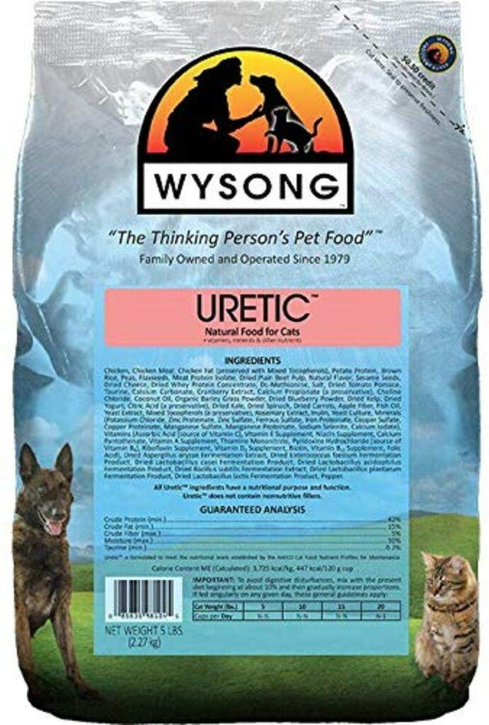 Wysong Uretic dry natural cat food