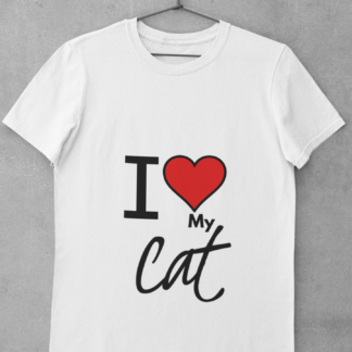 I love my cat tee shirt