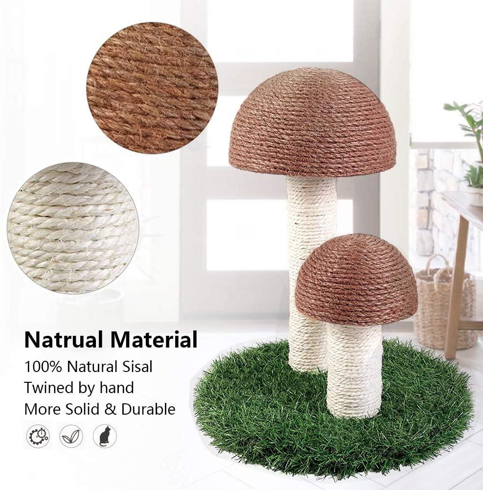 octagon mushroom scratching post