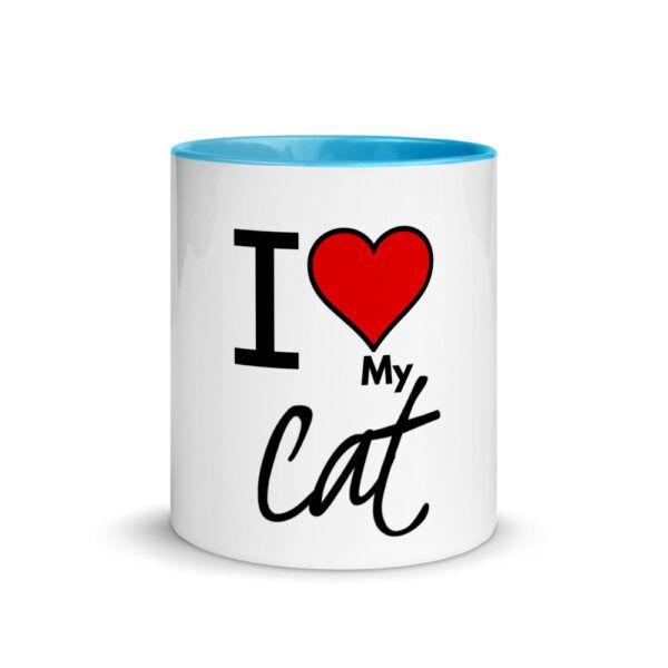 I love my cat mug