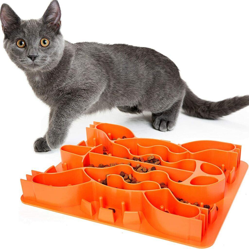 Slow Feeder Cat Bowl