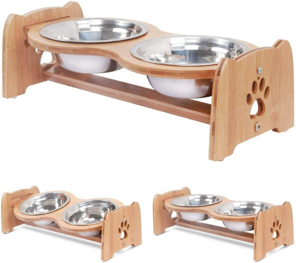 x zone cat food bowls