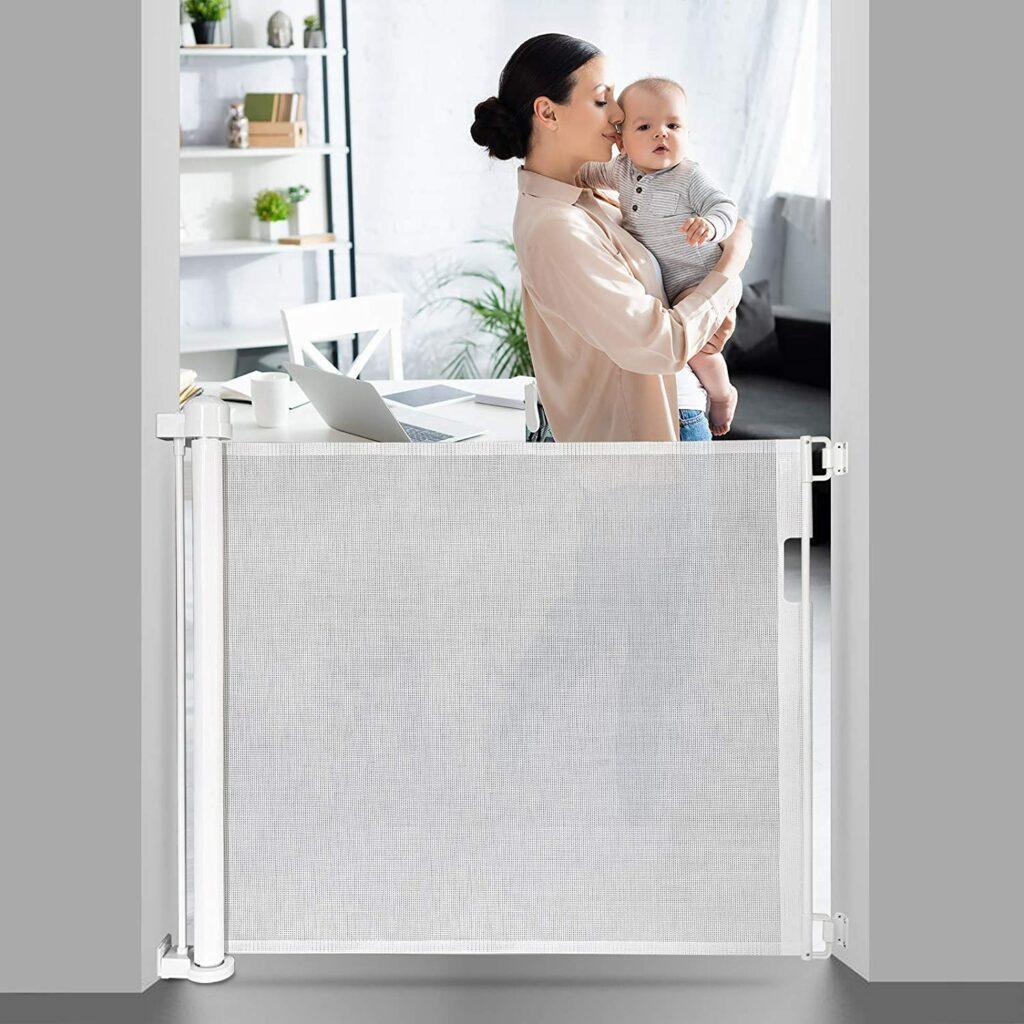 Retractable Baby Gate EasySMX