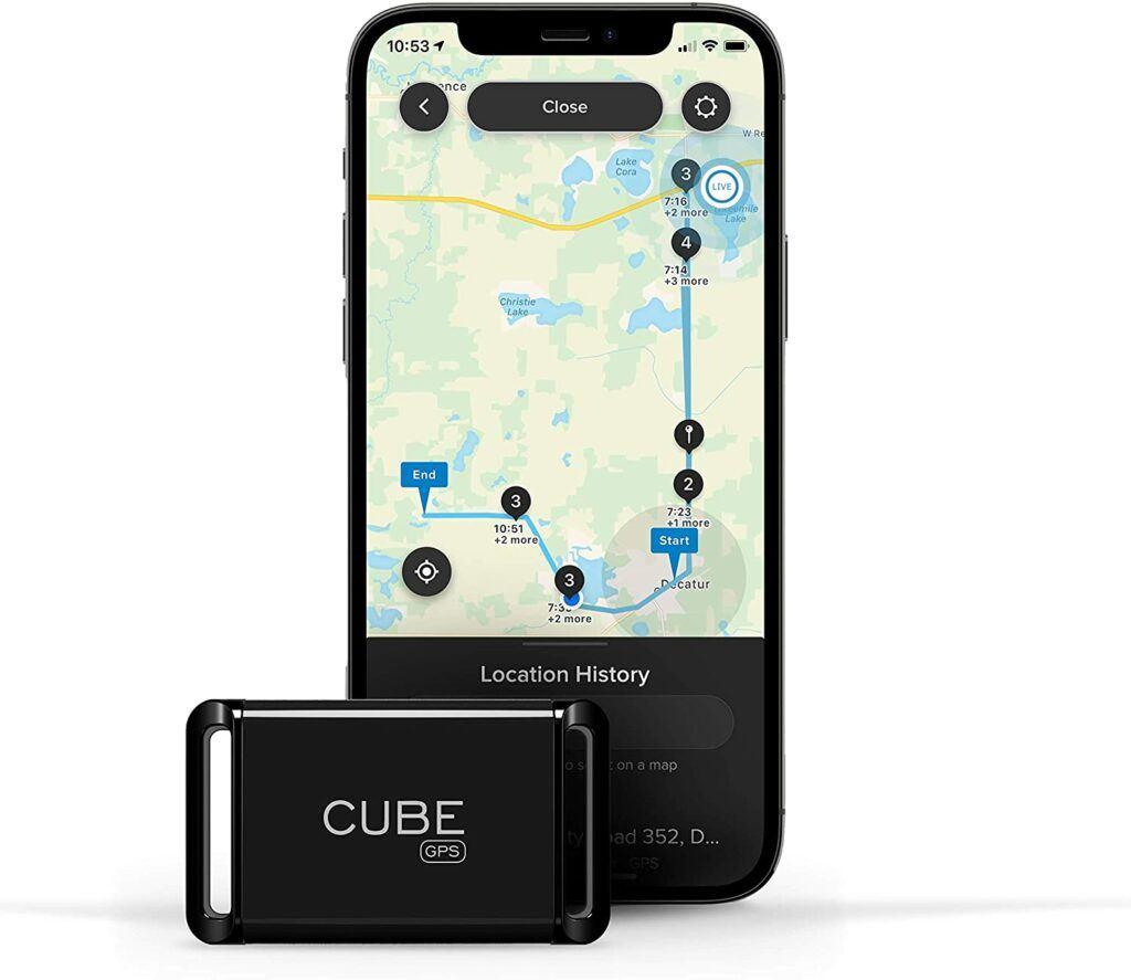 Cube GPS Tracker