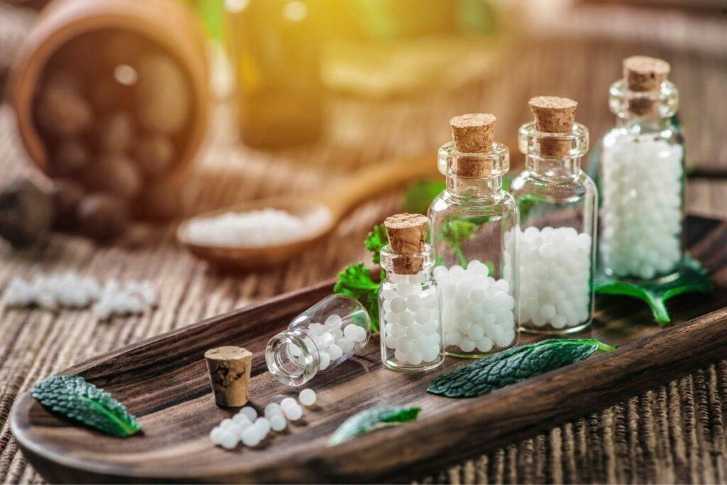 homeopathy phials