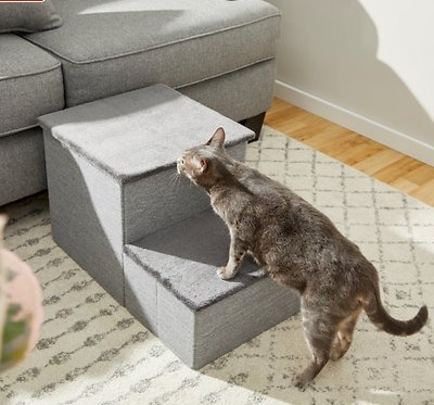 frisco collapsable cat and dog stairs
