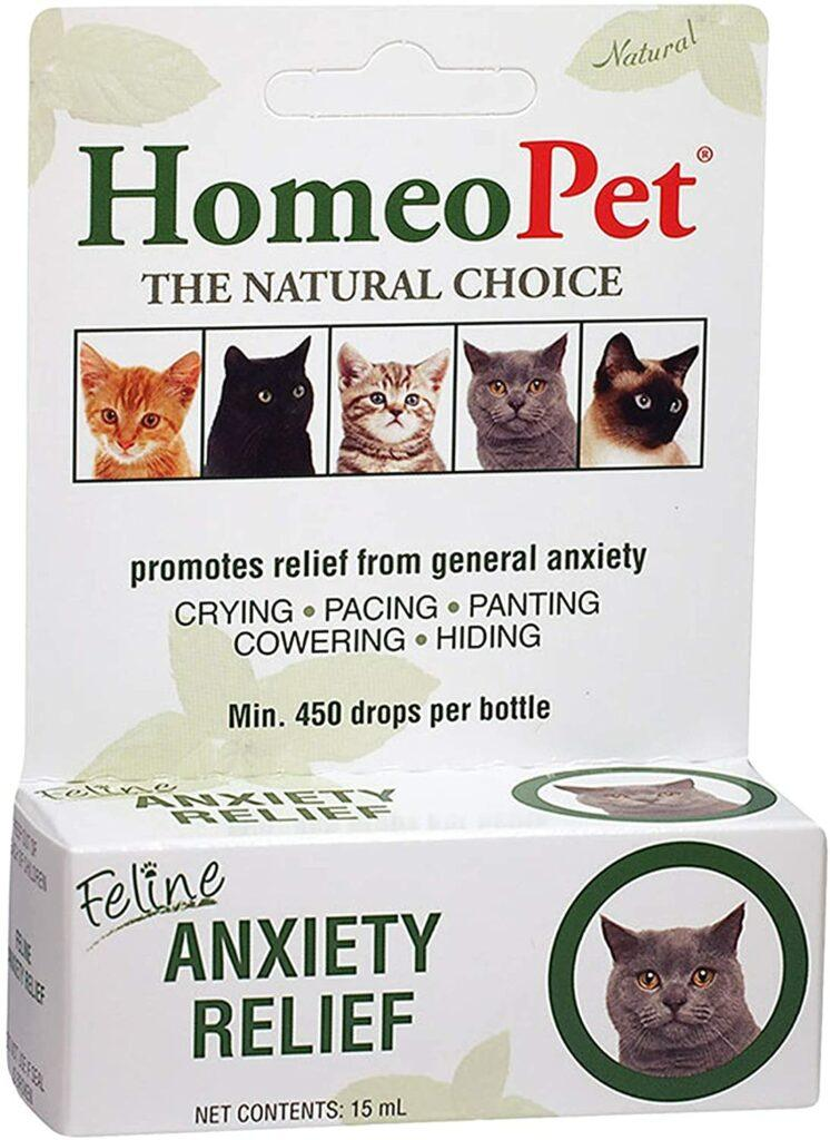 feline anxiety relief