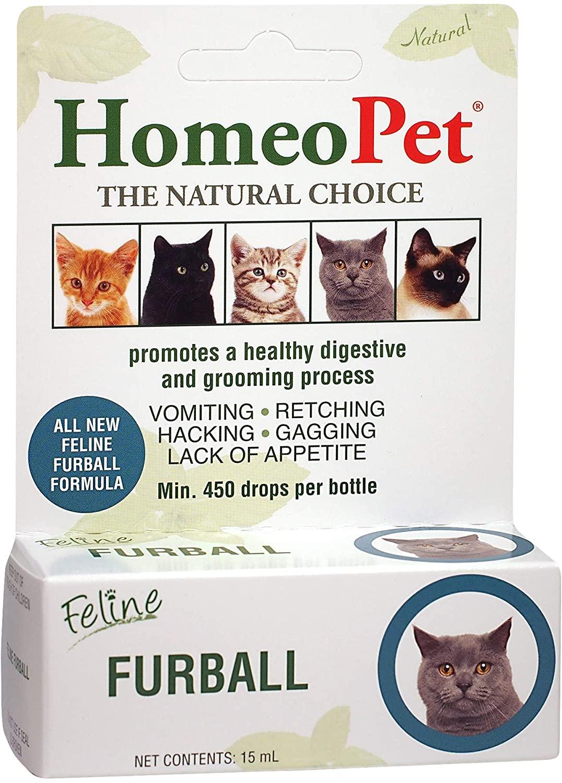 homeopet feline furball relief