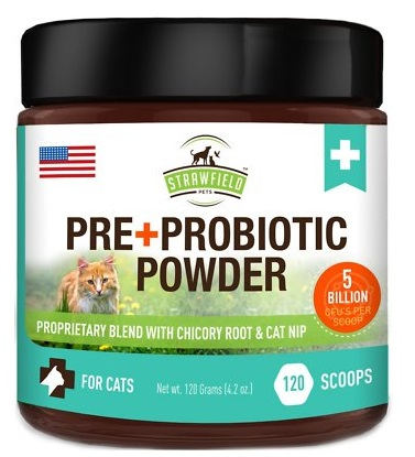 pre and probiotic powder for cats