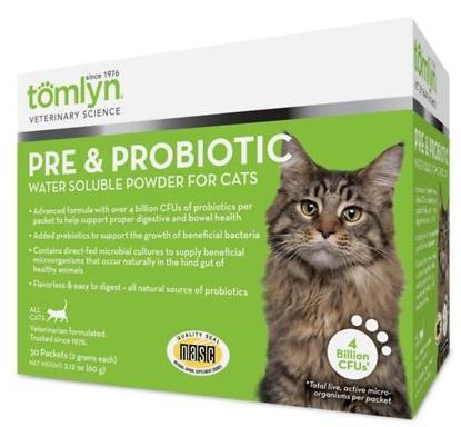 tomlyn prebiotic and probiotic