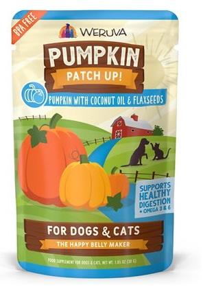 weruva pumpkin patch up cat and dog supplement