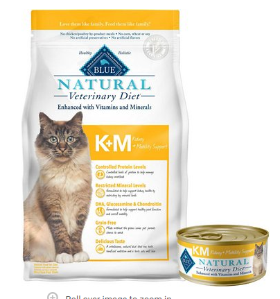 blue buffalo dry and canned food renal support for cats