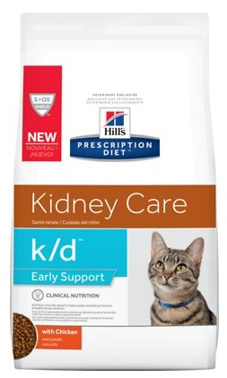 hills early renal support chicken dry cat food
