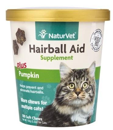 naturvet hairball aid